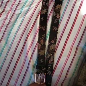 Accessories - Chinese floral belt